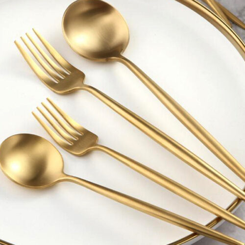 W011 - Gold color   ( Stainless 304 )